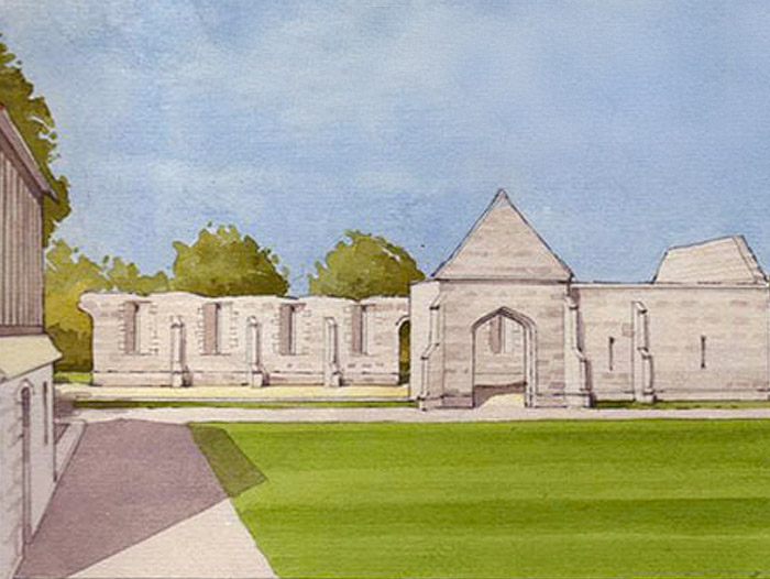 Llanthony Secunda Priory, HLF Round 2 application