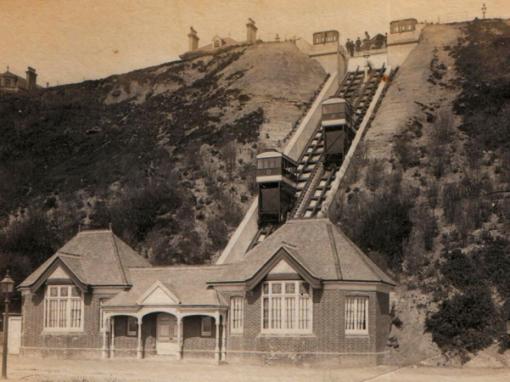 Leas Lift Funicular Railway